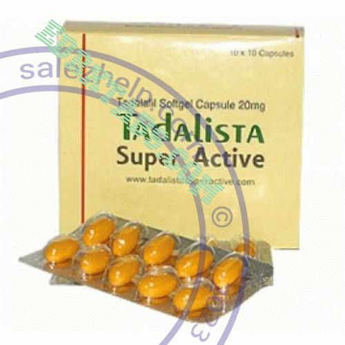 Tadalista Super Active (tadalafil)